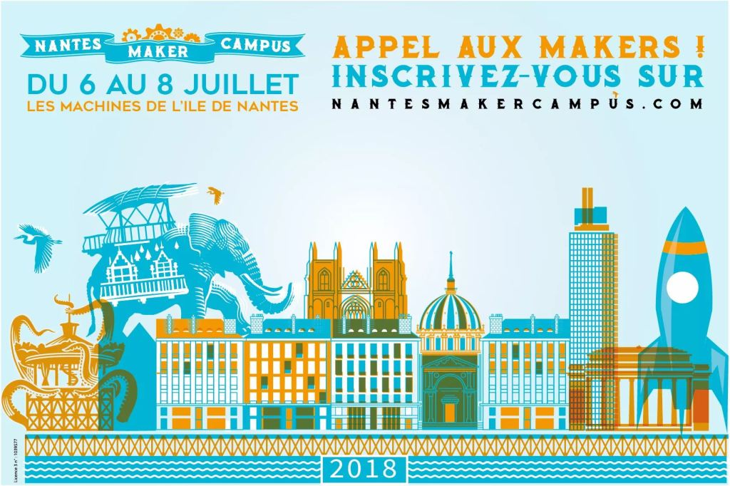 Nantes Maker Campus 2018
